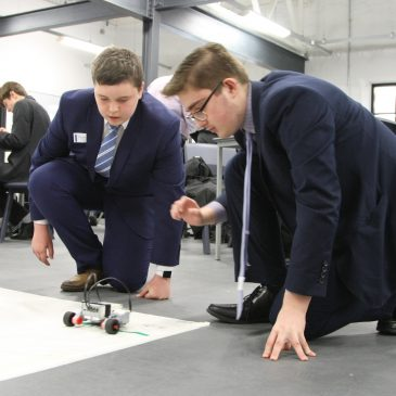 Students compete in engineering challenge set by industry