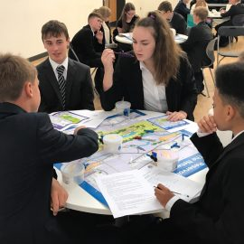Thames Water deliver Network Challenge to Year 10 students