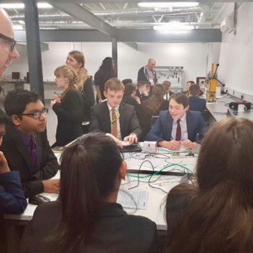 Students take part in Raspberry Pi challenge