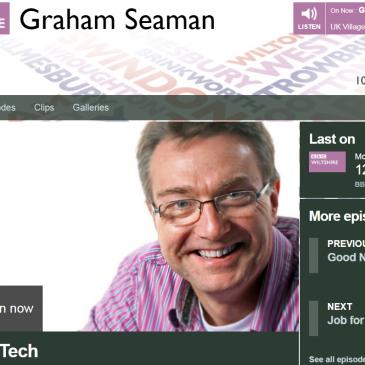 UTC Swindon showcased on local radio 'World of Tech' feature