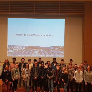 Students take part in a two day challenge at University of Oxford
