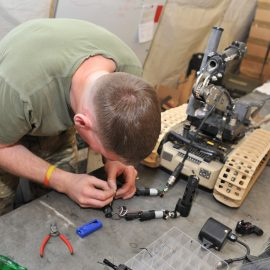 Year 13 students compete in REME Craftsman Cup Challenge