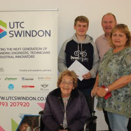UTC Swindon students look forward to the next step after GCSE results!