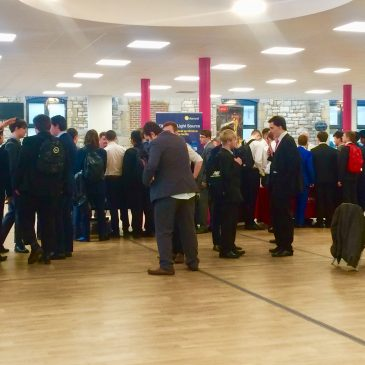 UTC Swindon's Careers Fair opens up a world of opportunities