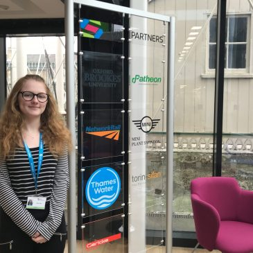 Engineering student thanks UTC Swindon for preparing her professionally and personally