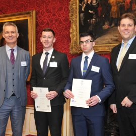UTC Swindon students commended at Duke of York Awards for Technical Education
