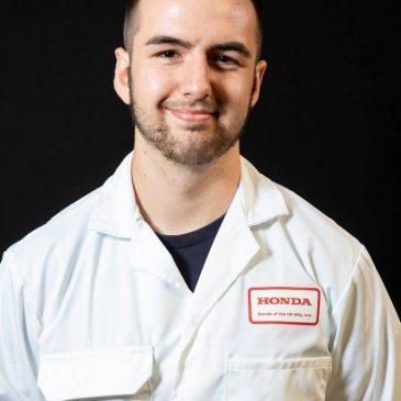 My apprenticeship at Honda – Adam, former UTC Swindon student