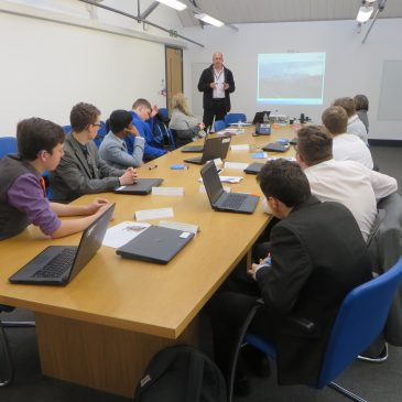 KS5 students gain valuable industry insights at latest UTC Pipeline Programme day