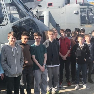 UTC Swindon students compete in Royal Navy Engineering Challenge 2019