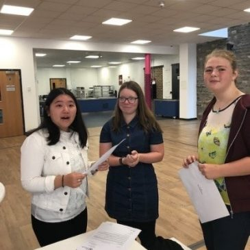 UTC Swindon students celebrate GCSE results