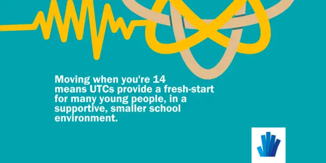 Changing schools when you're 14: UTCs provide a fresh start for many young people in a supportive, smaller school environment