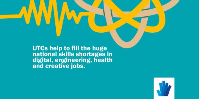 UTCs help to fill huge national skills shortages in digital, engineering, health and creative jobs.