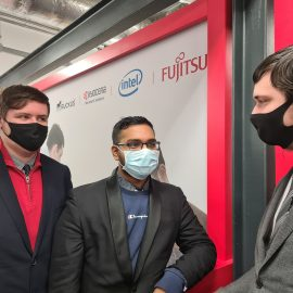 UTC Swindon students are finalists in Fujitsu's Operation Innovation competition