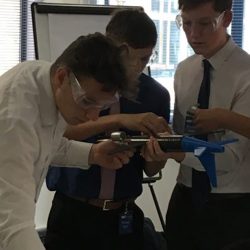 """Students """"see inside manufacturing"""" at GKN"""