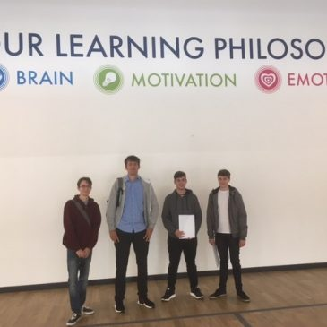 UTC Swindon students celebrate post-16 success