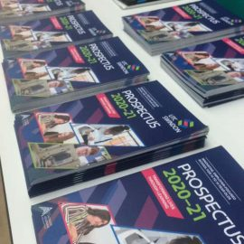 Prospective students tour UTC Swindon
