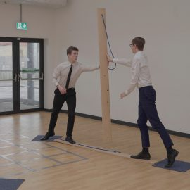Royal Navy challenges students with team-building problems for UTC Pipeline Programme